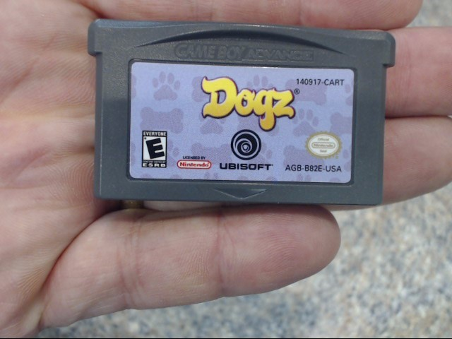 NINTENDO Nintendo GBA Game GAME BOY ADVANCE DOGZ