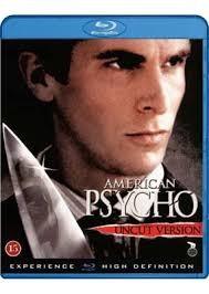 BLU-RAY MOVIE Blu-Ray AMERICAN PSYCO UNCUT VERSION