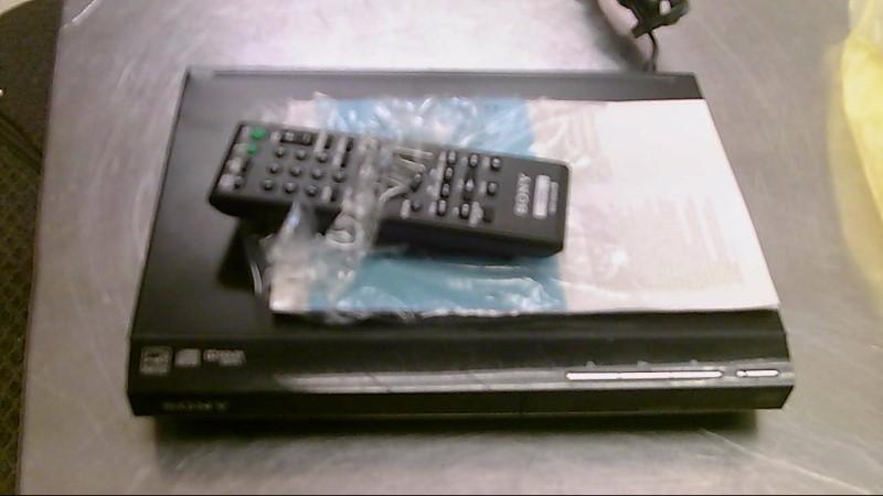 SONY HDMI DVD PLAYER,REMOTE DVP-SR510H