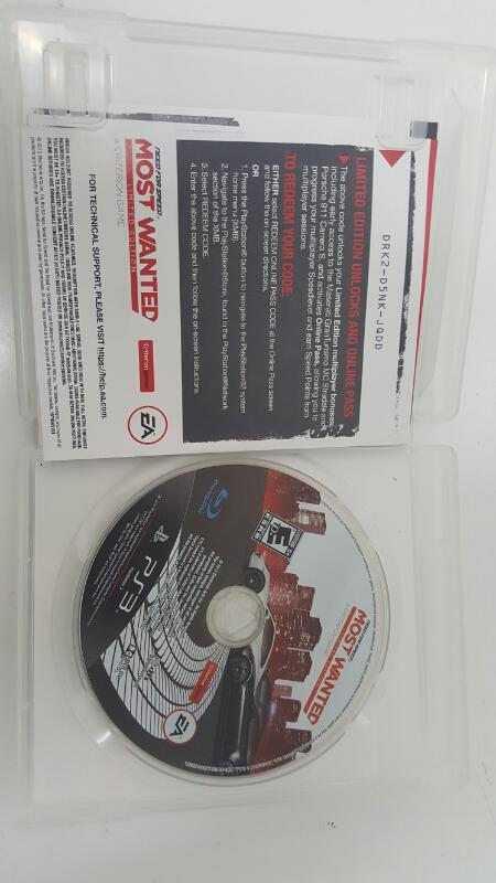 Need For Speed Most Wanted: Limited Edition Sony Playstation 3 PS3