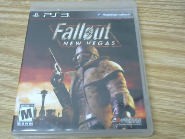 Sony PlayStation 3 Game FALLOUT NEW VEGAS