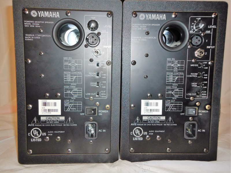 YAMAHA Speakers HS50M
