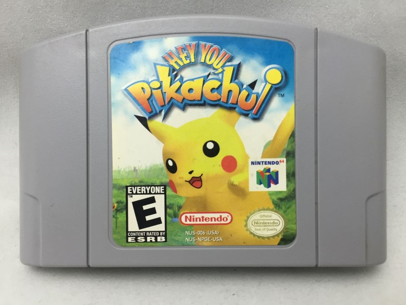 NINTENDO Nintendo 64 Game HEY YOU PIKACHUI