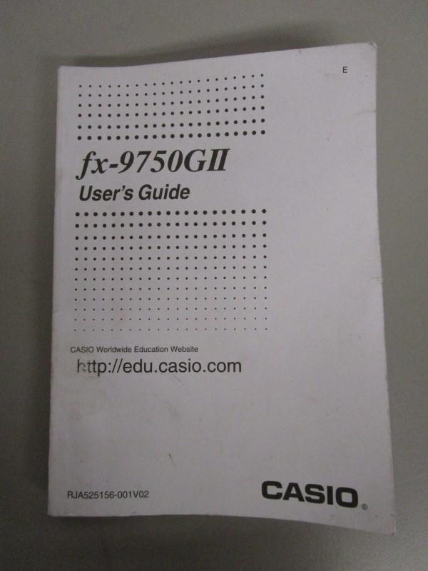 CASIO FX-9750GII USB POWER GRAPHIC, FX-115 ES CALCULATOR PAIR