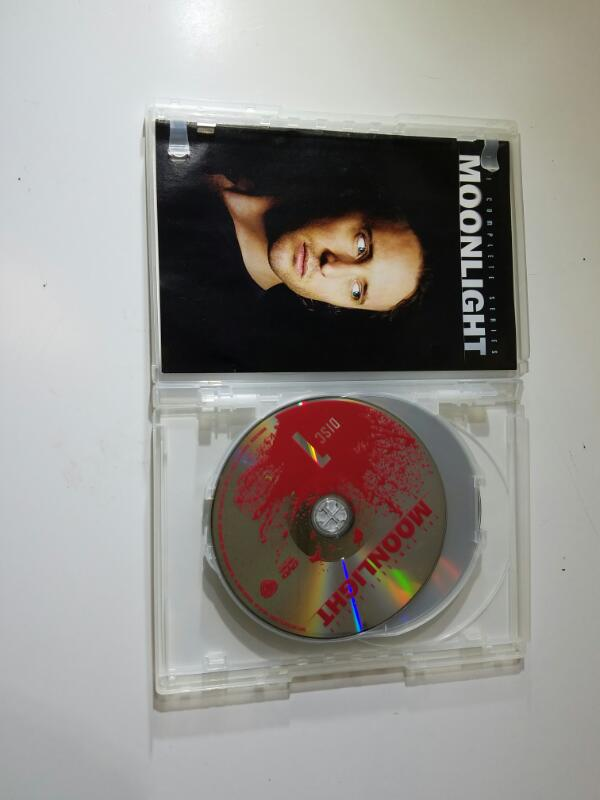 Moonlight The Complete Series on DVD