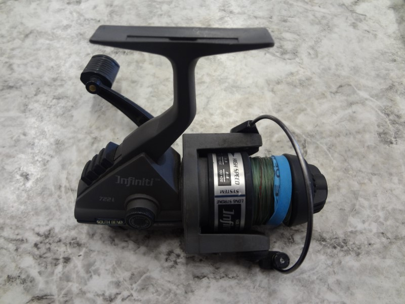 SOUTH BEND 722I INFINITI SPIN REEL