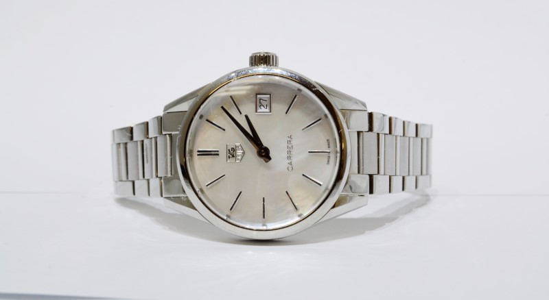 Tag Heuer Carrera WAR1311 Swiss Women's Watch - Mother of Pearl Dial