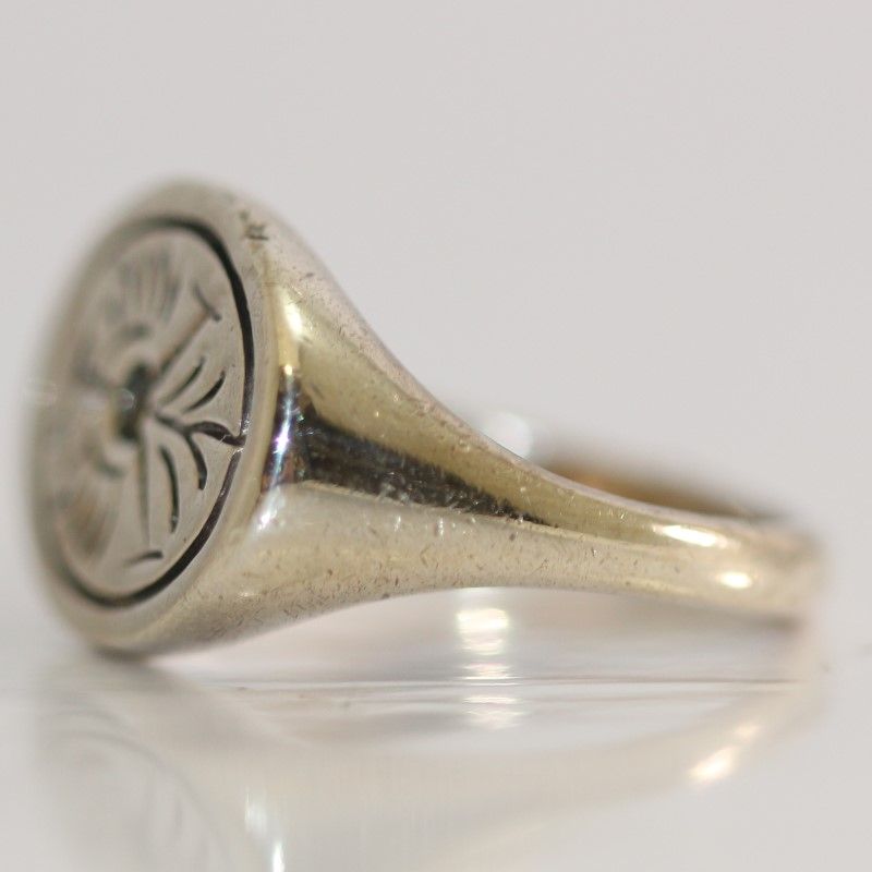 Sterling Silver Road Runner Ring Size 7.5