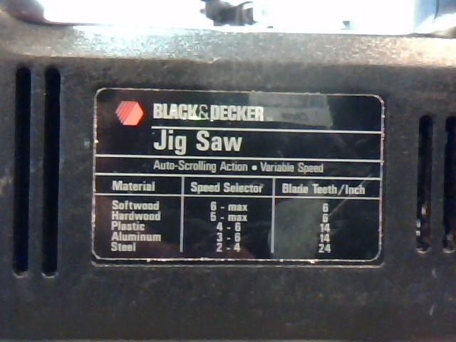 BLACK&DECKER JIGSAW 7588