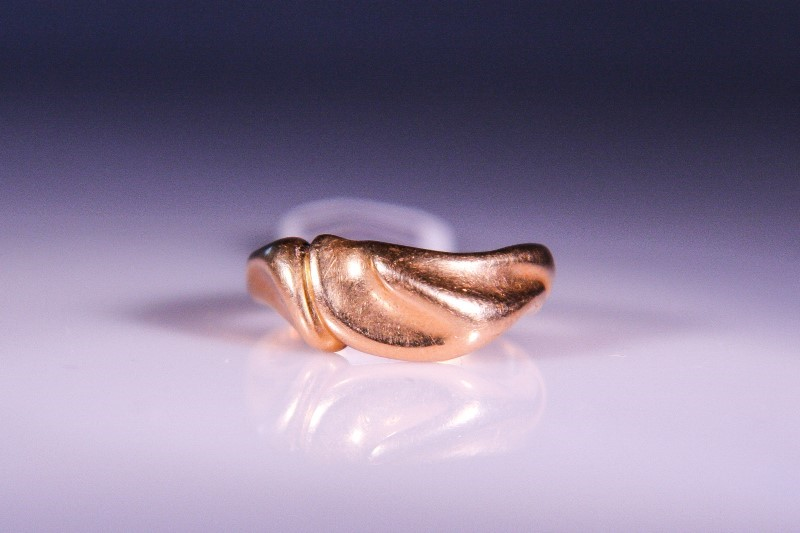 Lady's Gold Ring 14K Yellow Gold 6.6g Size:6