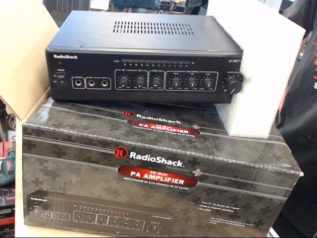 RADIO SHACK 40 WATT PA AMP
