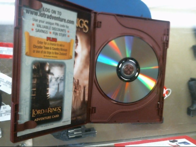 The Lord Of The Rings The Two Towers DVD