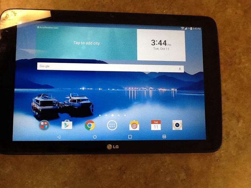 LG Tablet G PAD X10.1