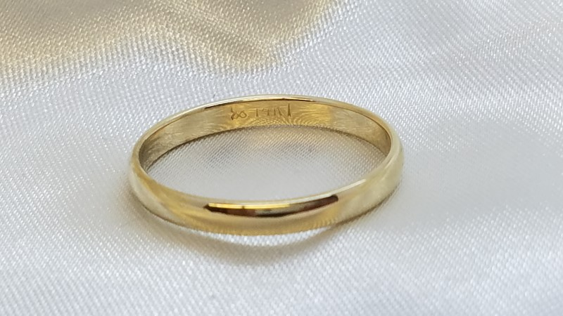 Gent's Gold Ring 14K Yellow Gold 2.5g Size:10.5