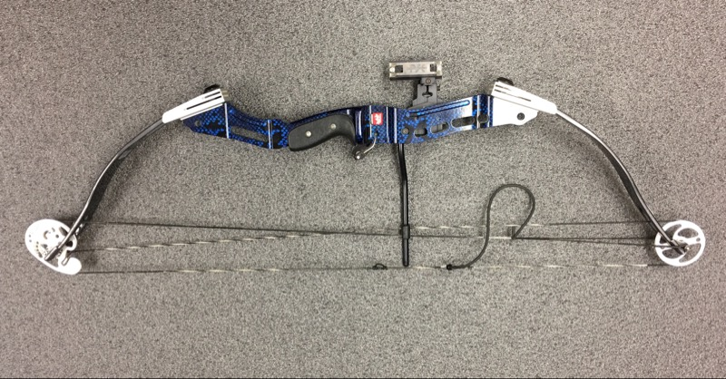 "PSE ARCHERY SUPRA COMPOUND BOW DL 29"", DW 60LBS. BUNDLE"