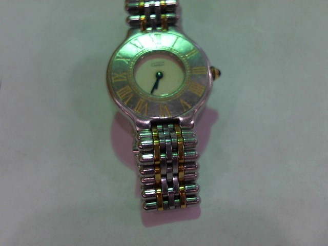 CARTIER Lady's Wristwatch MUST DE 21 TWO-TONE