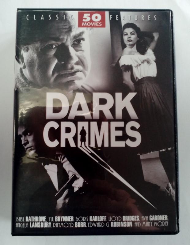 DVD BOX SET DARK CRIMES 50 MOVIES