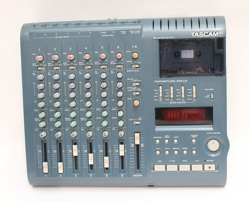 Tascam Portastudio 424 MKIII 4-Track Recording With Power Supply>