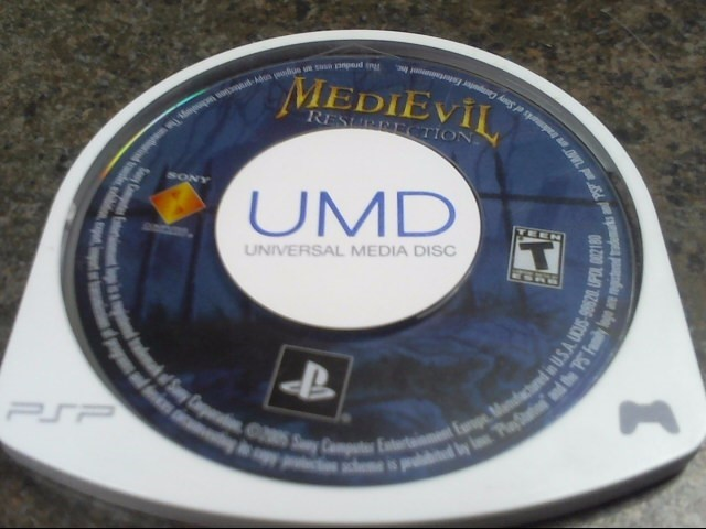 SONY  PSP MEDIEVIL RESURECTION-UMD