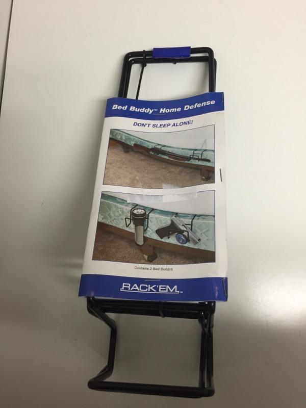 Rack'Em - Bed Buddy Home Defense Gun Holder - Double Rack'Em