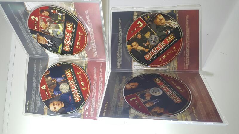 Rescue Me Season 3 on DVD