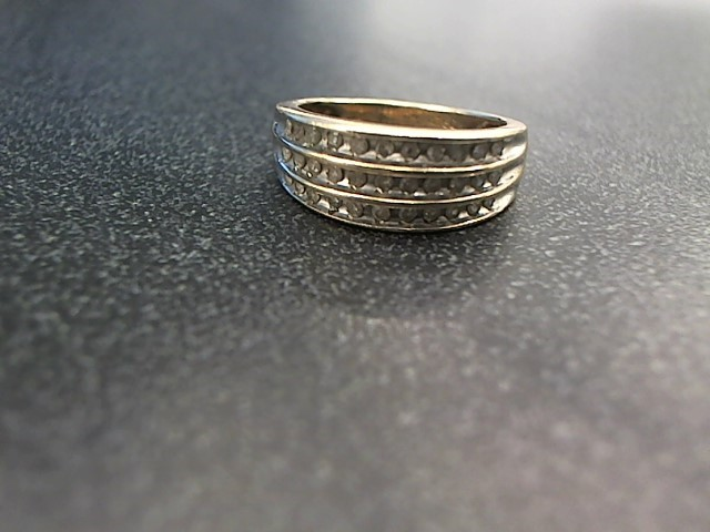 Lady's Diamond Fashion Ring 33 Diamonds .33 Carat T.W. 10K Yellow Gold 3.6g