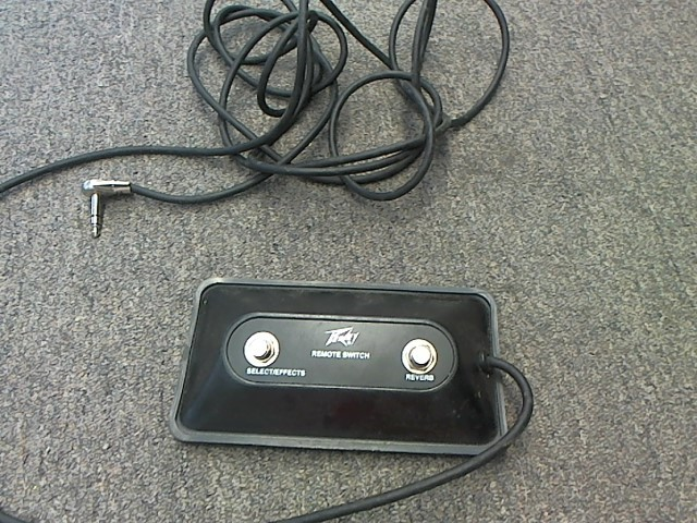 PEAVEY 2 BUTTON FOOT SWITCH
