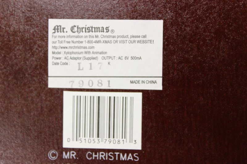Mr. Christams Gold Label Xylophonium with Animation