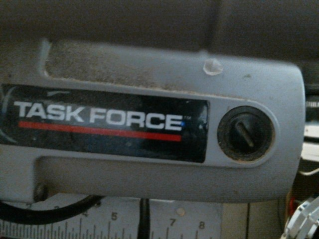 TASKFORCE MITER SAW Miter Saw 194325 ITEM #