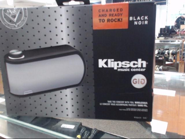 KLIPSCH Speakers/Subwoofer GIG
