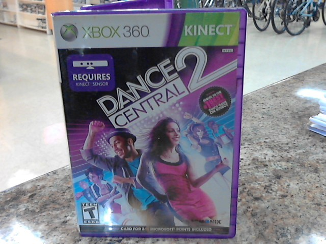 MICROSOFT Microsoft XBOX 360 Game DANCE CENTRAL 2