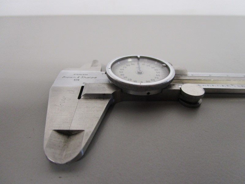 "VINTAGE BROWN & SHARPE 578 6"" DIAL CALIPER, MADE IN GERMANY"