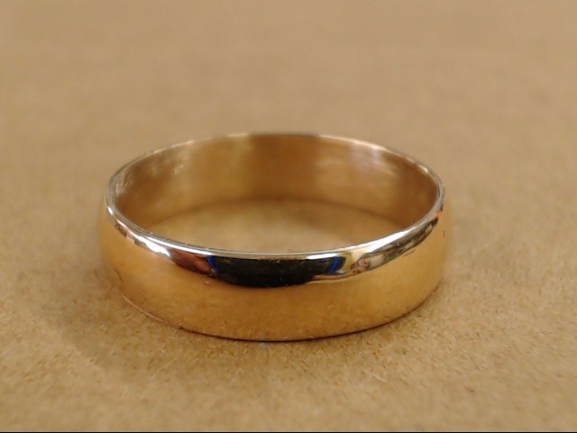 ESTATE CLASSIC WEDDING RING BAND SOLID REAL 18K ROSE GOLD  SIZE 6.5