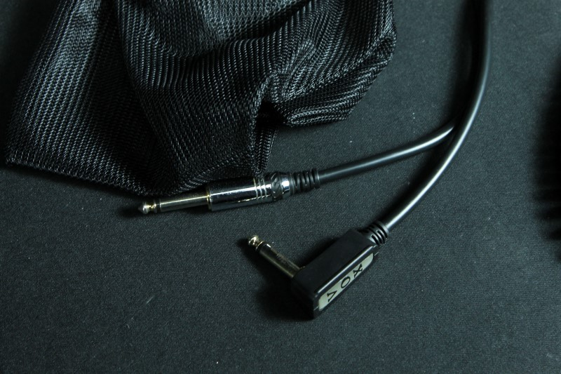 VOX VCC Vintage Coiled Cable Black for Electric Guitar w/ Bag