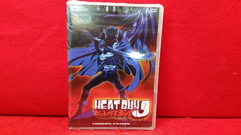Heat Guy J - Vol. 4: Hidden Fangs (DVD, 2004)