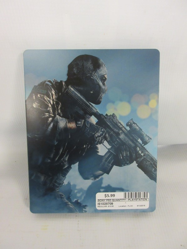 Call of Duty Ghost, PS3