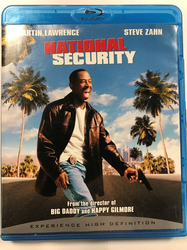 NATIONAL SECURITY BLU-RAY MOVIE