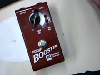 SEYMOUR DUNCAN PICKUP BOOSTER SFX-01 Guitar Pedal