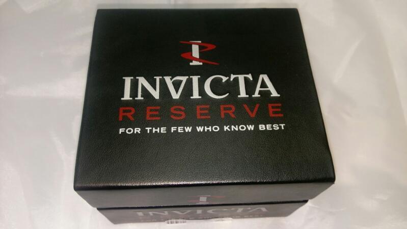 INVICTA RESERVE GENT'S WRIST WATCH MODEL 7262