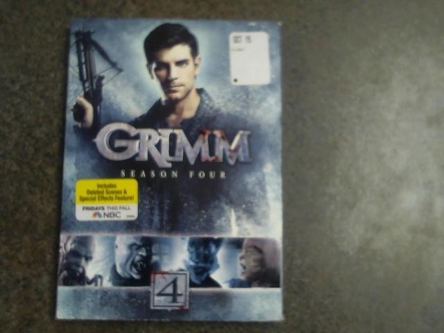 DVD GRIMM SEASON FOUR GRIMM SEASON FOUR