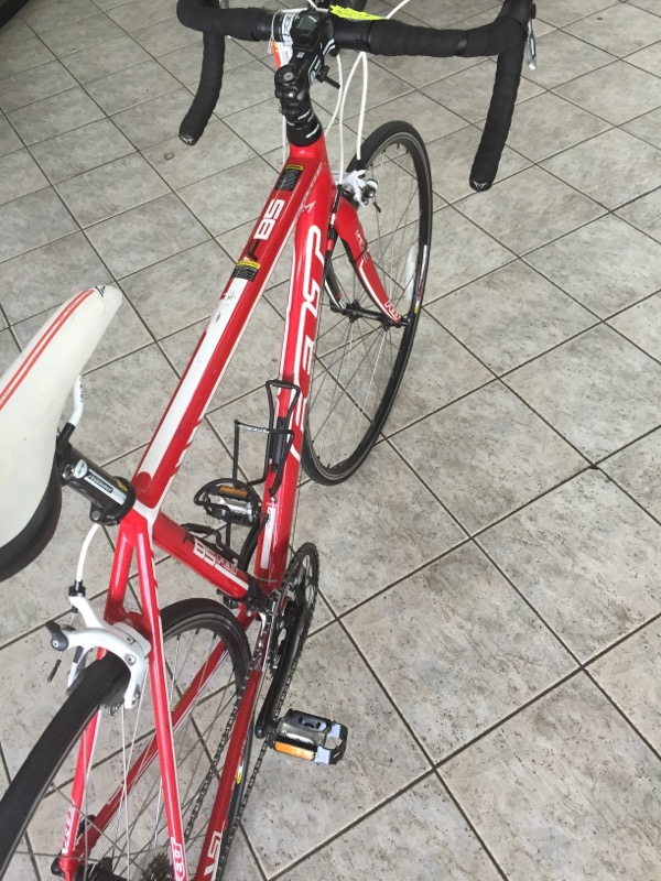 FELT F85    RACING BIKE RED AND WHITE