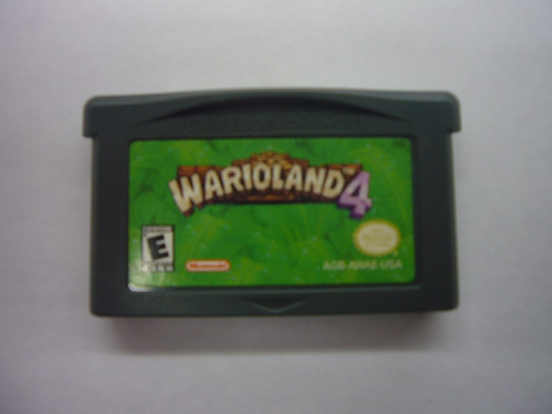 NINTENDO GBA Game WARIOLAND 4
