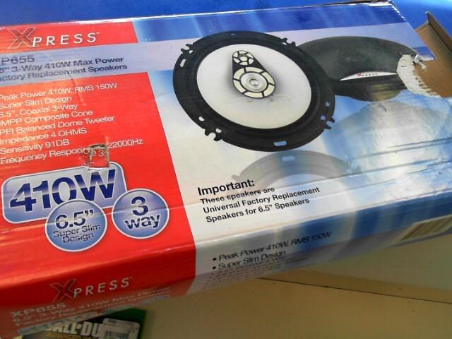 XPRESS Speakers XP655