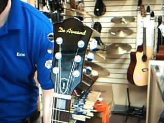 DE ARMOND Electric Guitar M-65C