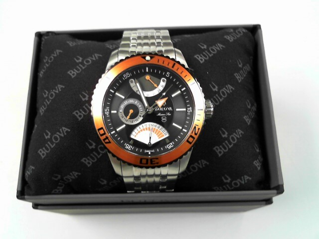 BULOVA GTS WATCH MARINE STAR 98B112