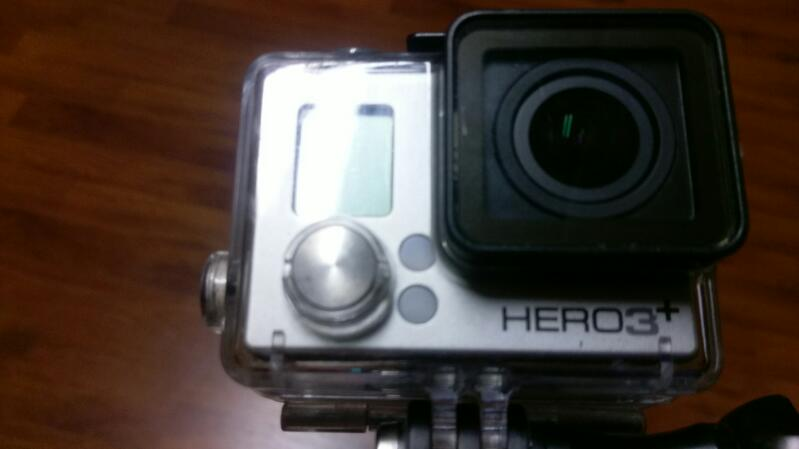 GoPro HERO3+ Plus Silver Edition Camera w/tripod