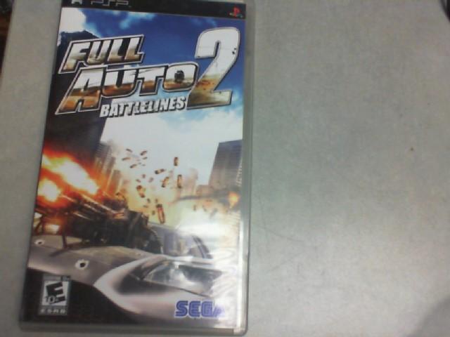 SONY Sony PlayStation 3 Game FULL AUTO 2 BATTLEINES