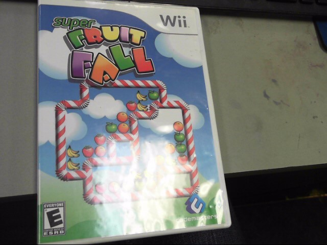 NINTENDO Nintendo Wii Game SUPER FRUIT FALL