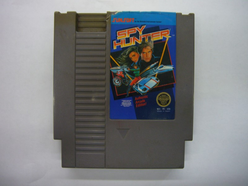 NINTENDO NES Game SPYHUNTER *CARTRIDGE ONLY*