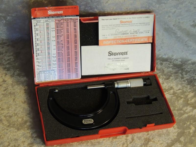 STARRETT 436 436.1MXRL-75 Outside Micrometer
